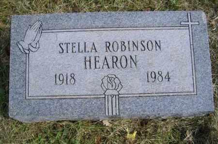 ROBINSON HEARON, STELLA - Gallia County, Ohio | STELLA ROBINSON HEARON - Ohio Gravestone Photos