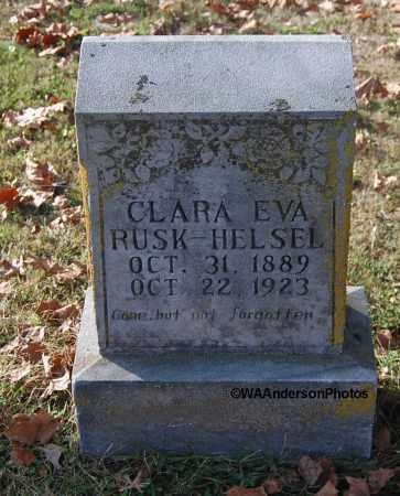 HELSEL, CLARA EVA - Gallia County, Ohio | CLARA EVA HELSEL - Ohio Gravestone Photos
