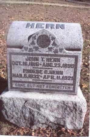 HERN, JOHN T. - Gallia County, Ohio | JOHN T. HERN - Ohio Gravestone Photos