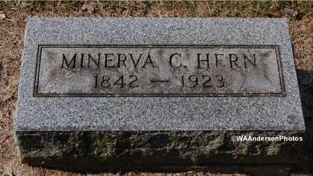 POINDEXTER HERN, MINERVA C - Gallia County, Ohio | MINERVA C POINDEXTER HERN - Ohio Gravestone Photos