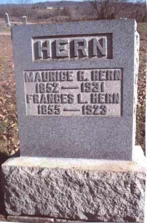 HERN, MAURICE R. - Gallia County, Ohio | MAURICE R. HERN - Ohio Gravestone Photos