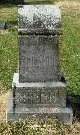 HERN, ROSENA K - Gallia County, Ohio | ROSENA K HERN - Ohio Gravestone Photos