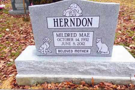 HERNDON, MILDRED MAE - Gallia County, Ohio | MILDRED MAE HERNDON - Ohio Gravestone Photos