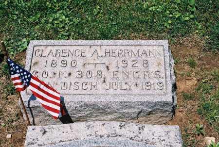 HERRMANN, CLARENCE ALVA - Gallia County, Ohio | CLARENCE ALVA HERRMANN - Ohio Gravestone Photos