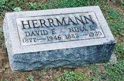 HERRMANN, NINA ESTELLE - Gallia County, Ohio | NINA ESTELLE HERRMANN - Ohio Gravestone Photos