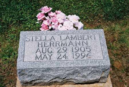 LAMBERT HERRMANN, ESTELLA - Gallia County, Ohio | ESTELLA LAMBERT HERRMANN - Ohio Gravestone Photos