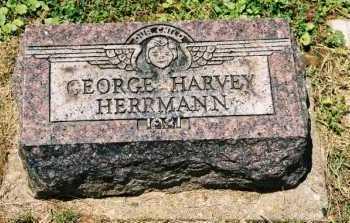 HERRMANN, GEORGE HARVEY - Gallia County, Ohio | GEORGE HARVEY HERRMANN - Ohio Gravestone Photos