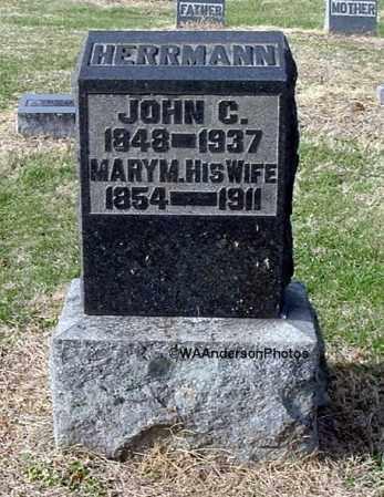 HERRMANN, MARY MATILDA - Gallia County, Ohio   MARY MATILDA HERRMANN - Ohio Gravestone Photos