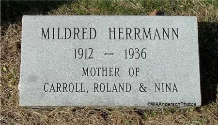 MULFORD HERRMANN, MILDRED MARIE - Gallia County, Ohio | MILDRED MARIE MULFORD HERRMANN - Ohio Gravestone Photos
