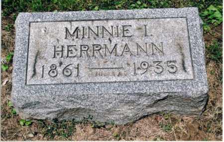 HERRMANN, MINNIE IRENE - Gallia County, Ohio | MINNIE IRENE HERRMANN - Ohio Gravestone Photos