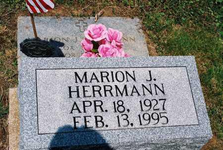 HERRMANN, MARION JASPER - Gallia County, Ohio | MARION JASPER HERRMANN - Ohio Gravestone Photos