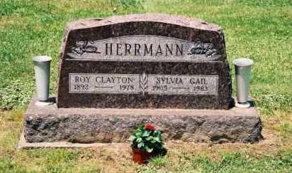 HERRMANN, ROYAL CLAYTON - Gallia County, Ohio   ROYAL CLAYTON HERRMANN - Ohio Gravestone Photos