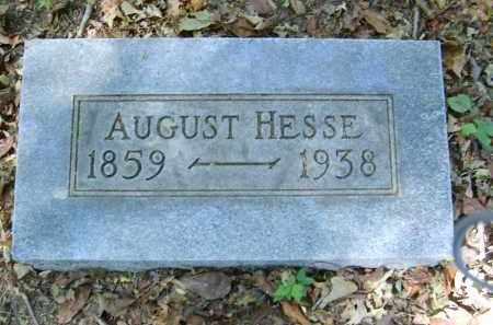 HESSE, AUGUST - Gallia County, Ohio | AUGUST HESSE - Ohio Gravestone Photos