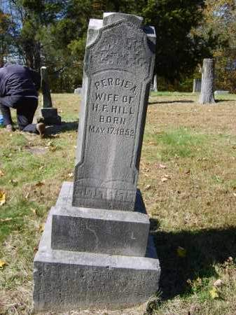 HILL, PERCIE - Gallia County, Ohio | PERCIE HILL - Ohio Gravestone Photos