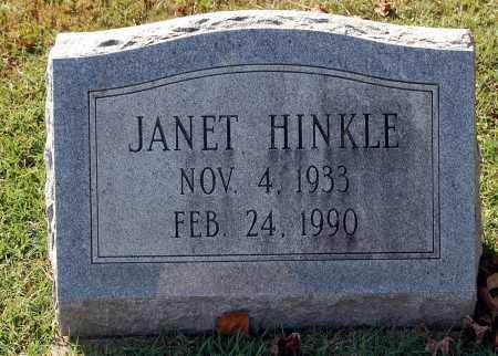 HINKLE, JANET - Gallia County, Ohio | JANET HINKLE - Ohio Gravestone Photos