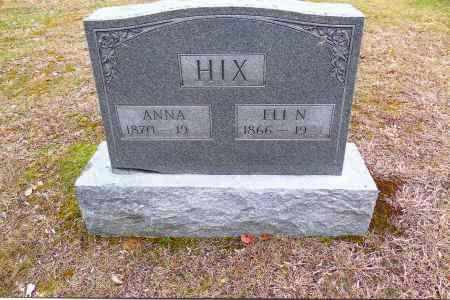 HIX, ANNA - Gallia County, Ohio | ANNA HIX - Ohio Gravestone Photos