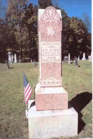 HIX, JOHN A. - Gallia County, Ohio | JOHN A. HIX - Ohio Gravestone Photos