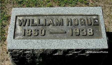 HOGUE, WILLIAM - Gallia County, Ohio | WILLIAM HOGUE - Ohio Gravestone Photos