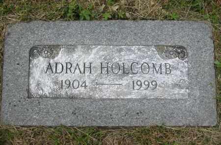 HOLCOMB, ADRAH - Gallia County, Ohio   ADRAH HOLCOMB - Ohio Gravestone Photos
