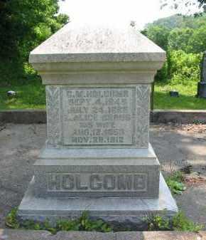 HOLCOMB, C.M. - Gallia County, Ohio | C.M. HOLCOMB - Ohio Gravestone Photos