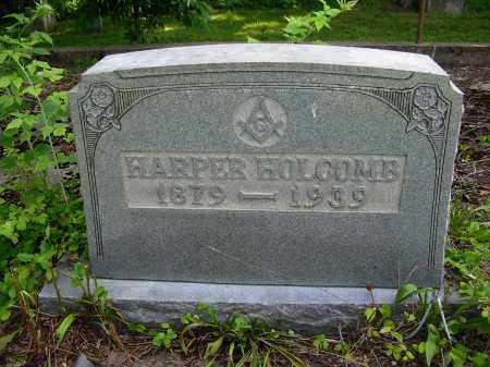HOLCOMB, HARPER - Gallia County, Ohio | HARPER HOLCOMB - Ohio Gravestone Photos
