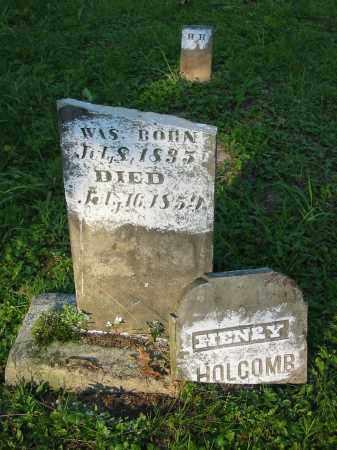 HOLCOMB, HENRY - Gallia County, Ohio   HENRY HOLCOMB - Ohio Gravestone Photos