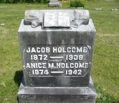 HOLCOMB, ANICE M. - Gallia County, Ohio   ANICE M. HOLCOMB - Ohio Gravestone Photos
