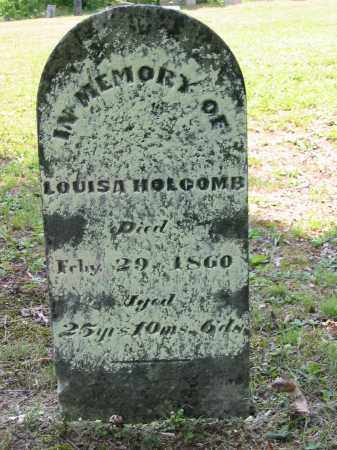 HOLCOMB, LOUISA - Gallia County, Ohio | LOUISA HOLCOMB - Ohio Gravestone Photos