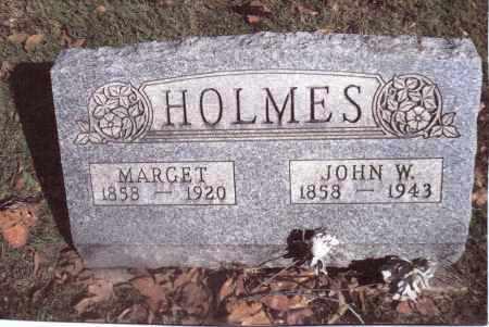 HOLMES, JOHN W. - Gallia County, Ohio | JOHN W. HOLMES - Ohio Gravestone Photos