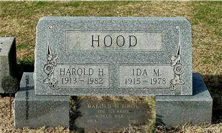 HOOD, IDA M - Gallia County, Ohio | IDA M HOOD - Ohio Gravestone Photos