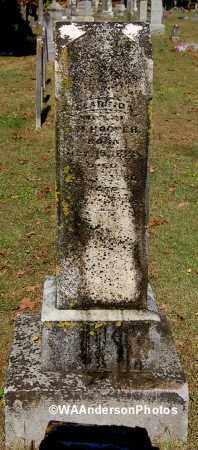 PARKER HOOPER, CLARINDA - Gallia County, Ohio | CLARINDA PARKER HOOPER - Ohio Gravestone Photos
