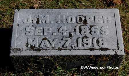HOOPER, JUDSON M - Gallia County, Ohio | JUDSON M HOOPER - Ohio Gravestone Photos