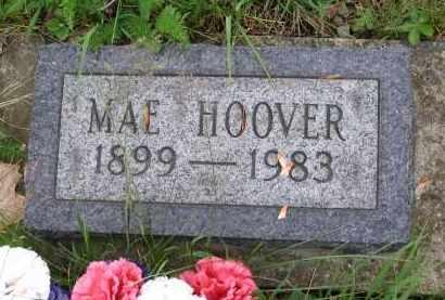 HOOVER, MAE - Gallia County, Ohio   MAE HOOVER - Ohio Gravestone Photos