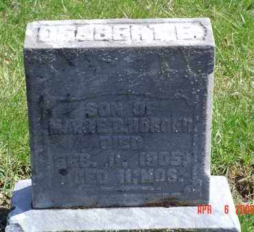 HORGER, DELBERT E. - Gallia County, Ohio   DELBERT E. HORGER - Ohio Gravestone Photos