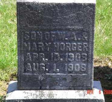 HORGER, GERALD W. - Gallia County, Ohio | GERALD W. HORGER - Ohio Gravestone Photos