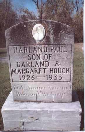 HOUCK, HARLAND PAUL - Gallia County, Ohio   HARLAND PAUL HOUCK - Ohio Gravestone Photos