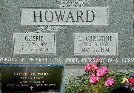 HOWARD, E CHRISTINE - Gallia County, Ohio | E CHRISTINE HOWARD - Ohio Gravestone Photos