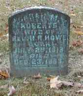 ROBERTS HOWE, SARAH - Gallia County, Ohio   SARAH ROBERTS HOWE - Ohio Gravestone Photos