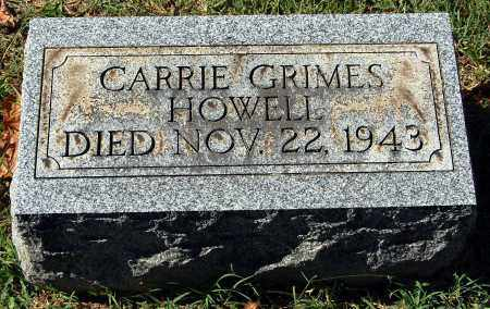 GRIMES HOWELL, CARRIE - Gallia County, Ohio | CARRIE GRIMES HOWELL - Ohio Gravestone Photos