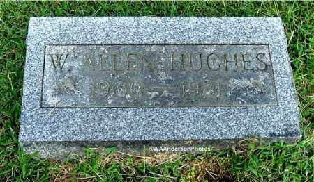 HUGHES, W. ALLEN - Gallia County, Ohio | W. ALLEN HUGHES - Ohio Gravestone Photos