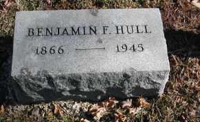 HULL, BENJAMIN F. - Gallia County, Ohio | BENJAMIN F. HULL - Ohio Gravestone Photos
