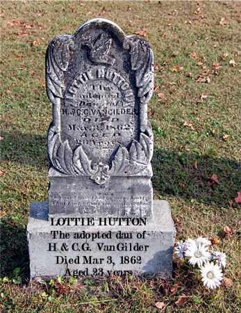 HUTTON, LOTTIE - Gallia County, Ohio   LOTTIE HUTTON - Ohio Gravestone Photos