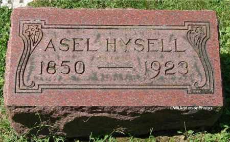 HYSELL, ASEL - Gallia County, Ohio | ASEL HYSELL - Ohio Gravestone Photos
