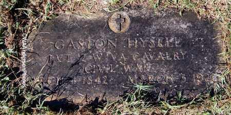 HYSELL, GASTON - Gallia County, Ohio | GASTON HYSELL - Ohio Gravestone Photos