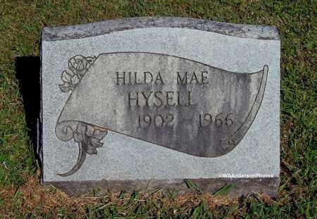 HYSELL, HILDA MAE - Gallia County, Ohio   HILDA MAE HYSELL - Ohio Gravestone Photos
