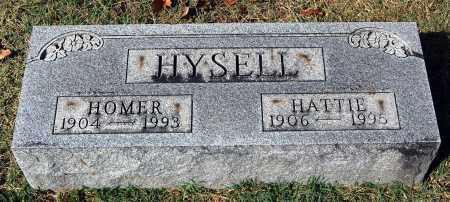 HYSELL, HATTIE - Gallia County, Ohio   HATTIE HYSELL - Ohio Gravestone Photos