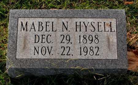 HYSELL, MABEL N. - Gallia County, Ohio   MABEL N. HYSELL - Ohio Gravestone Photos