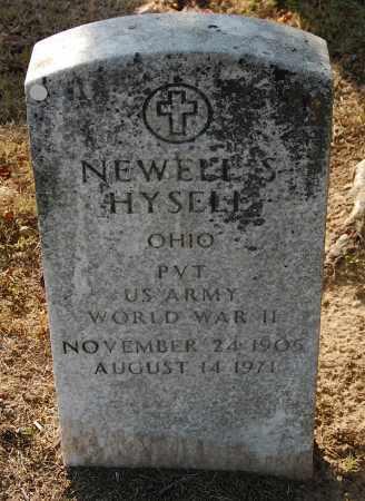 HYSELL, NEWELL S. - Gallia County, Ohio | NEWELL S. HYSELL - Ohio Gravestone Photos