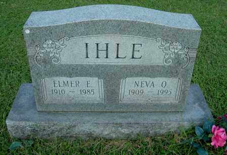 IHLE, NEVA O - Gallia County, Ohio   NEVA O IHLE - Ohio Gravestone Photos