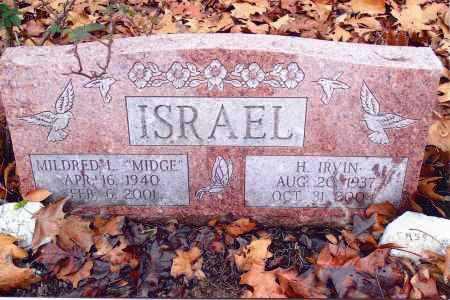 ISRAEL, H. IRVIN - Gallia County, Ohio   H. IRVIN ISRAEL - Ohio Gravestone Photos
